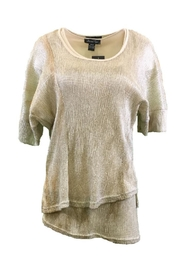 Michael Tyler Collections Beige Top - Product Mini Image