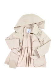 Mayoral Beige Trenchcoat - Front full body