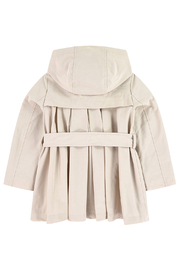 Mayoral Beige Trenchcoat - Side cropped