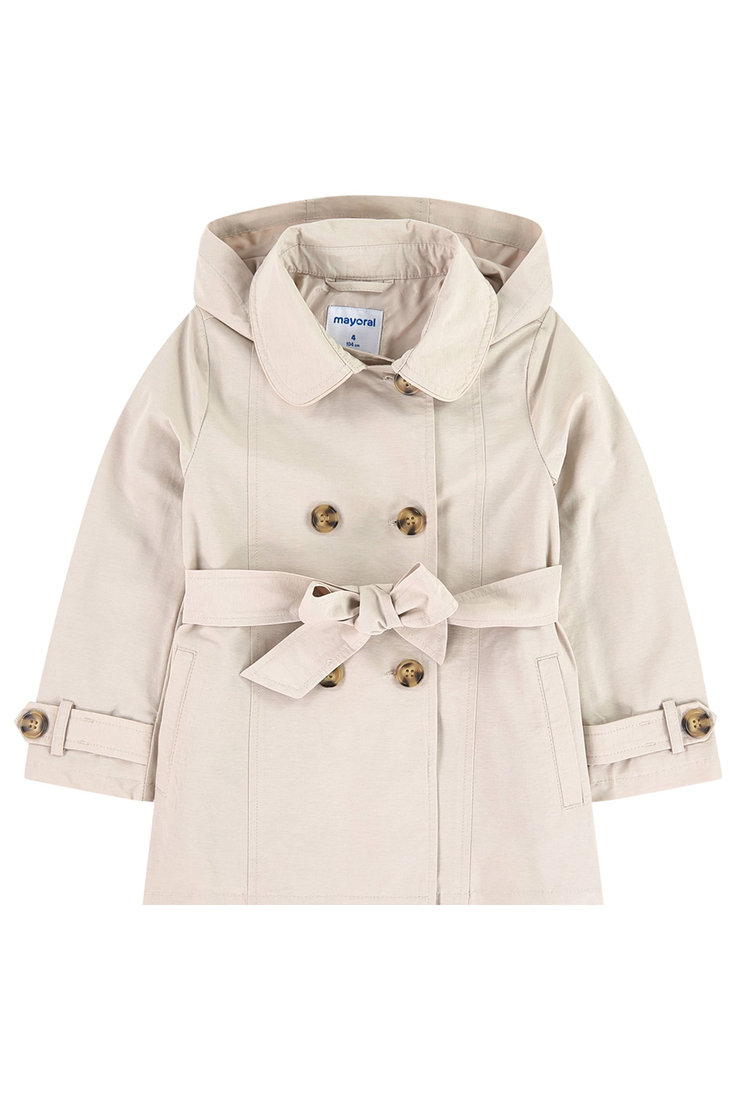 Mayoral Beige Trenchcoat - Main Image