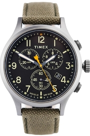 timex Beije Chrono Watch - Front cropped