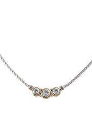 JOHN MEDEIROS Beijos 3stone Cznecklace - Front cropped