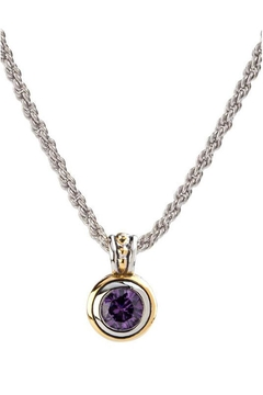 JOHN MEDEIROS Beijos-8mm-Amy-Bezel Set Pendant-Necklace - Alternate List Image
