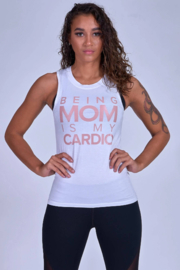 Modus Apparel Being Mom Is My Cardio Muscle Tank - Product Mini Image