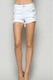 Vervet Bejeweled Shorts - Product Mini Image