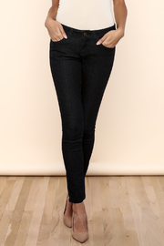 Bejeweled Skinny Ankle Jean - Product Mini Image