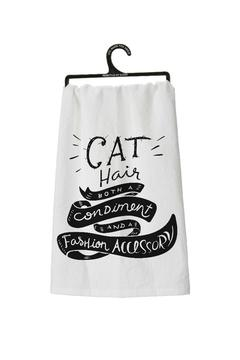 Bekah Kate's (Kitchen, Kids & Home) Dishtowel Cat Hair - Alternate List Image