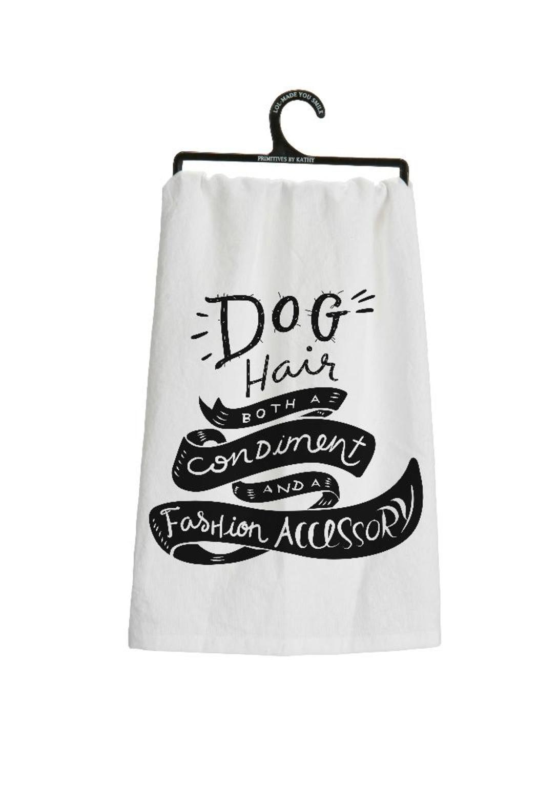 Bekah Kate's (Kitchen, Kids & Home) Dog Hair Dishtowel - Main Image