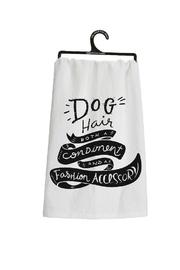 Bekah Kate's (Kitchen, Kids & Home) Dog Hair Dishtowel - Front full body