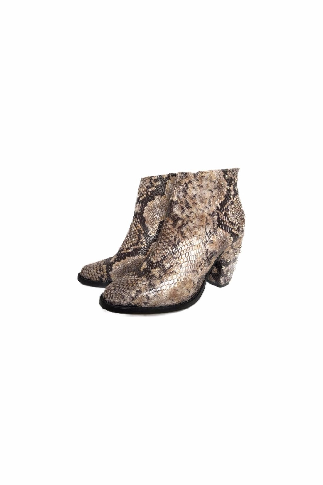 Bel Carril Brooklyn Taupe Boot - Front Full Image