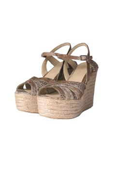 Bel Carril Beige Celina Wedge - Alternate List Image