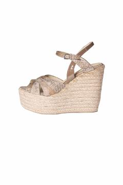Bel Carril Beige Celina Wedge - Product List Image