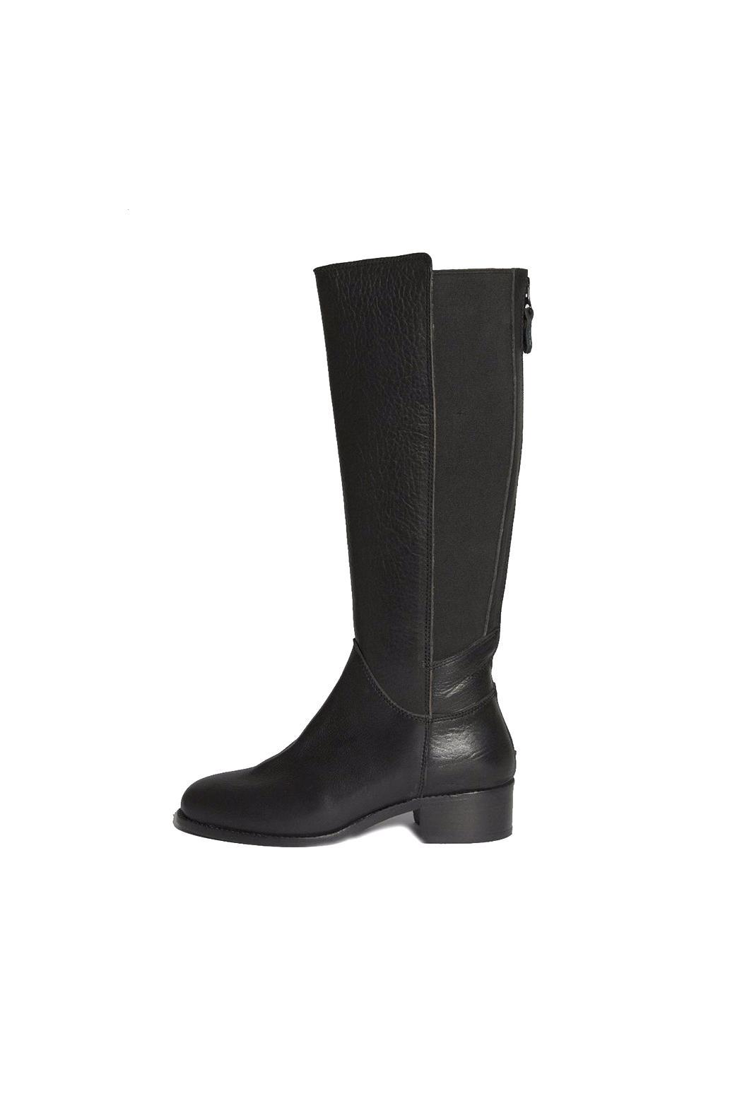 Bel Carril Black Queen Boot - Front Cropped Image