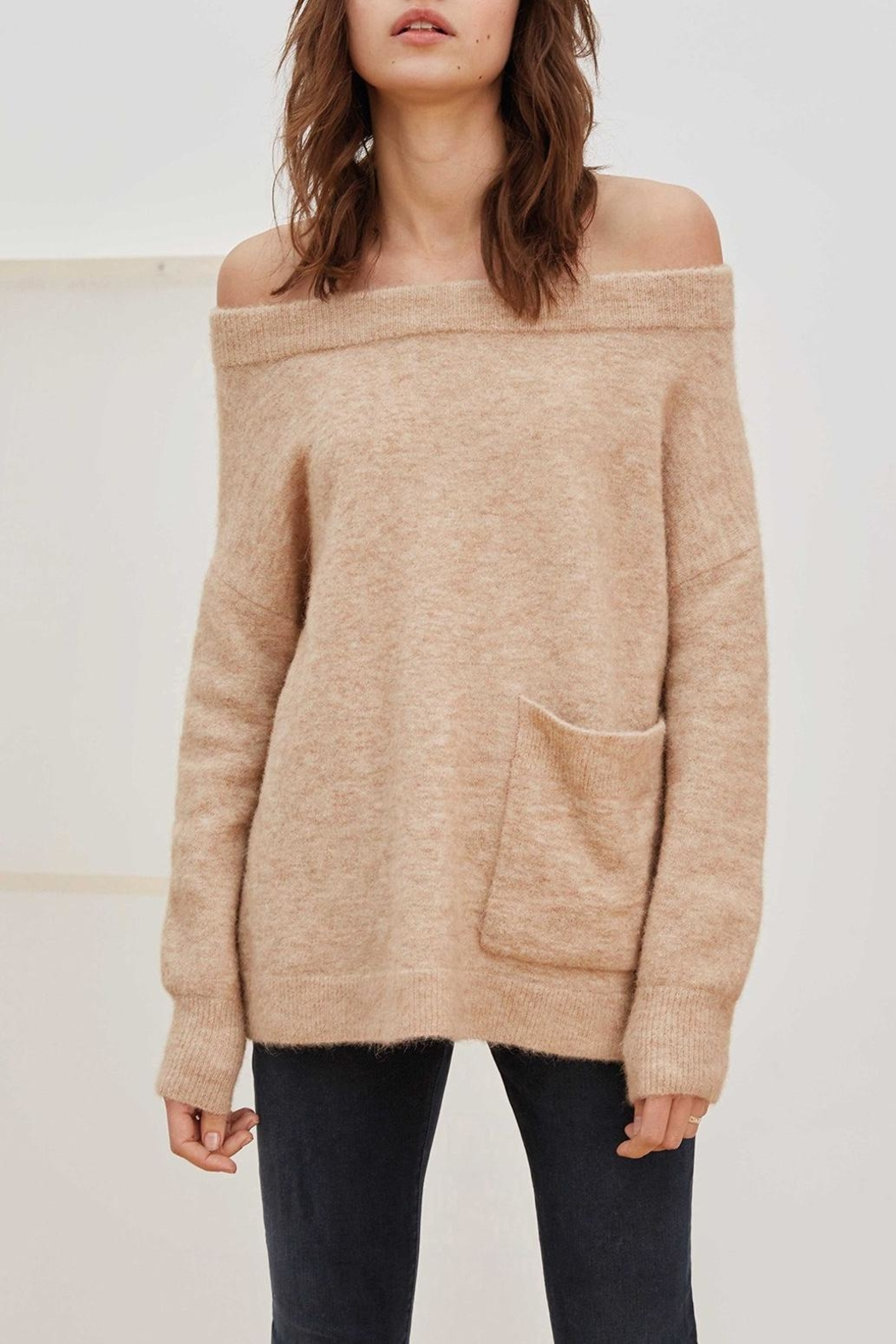 Charli Bela Wool Sweater - Front Cropped Image
