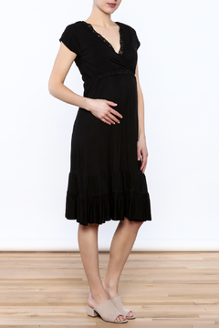 Belabumbum Black Ruffle Dress - Product List Image