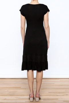 Belabumbum Black Ruffle Dress - Alternate List Image
