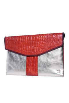 Shoptiques Product: Olivia Croco Clutch
