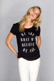CHRLDR Believe Graphic Tee - Front cropped