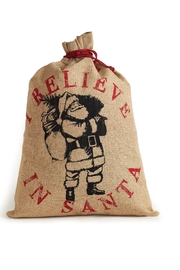 Mona B Believe in Santa Gift Sack - Front cropped
