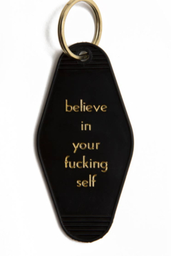 Shoptiques Product: Believe in Yourself Keychain