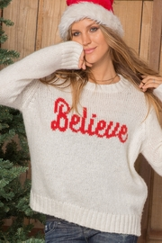 Wooden Ships Believe Sweater - Product Mini Image