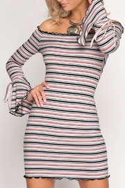 She + Sky Bell Bodycon Dress - Product Mini Image