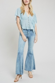 Wishlist Bell Bottom Denim - Product Mini Image