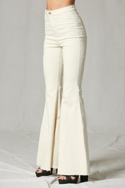 Blank Paige Bell Bottom Jeans - Front full body