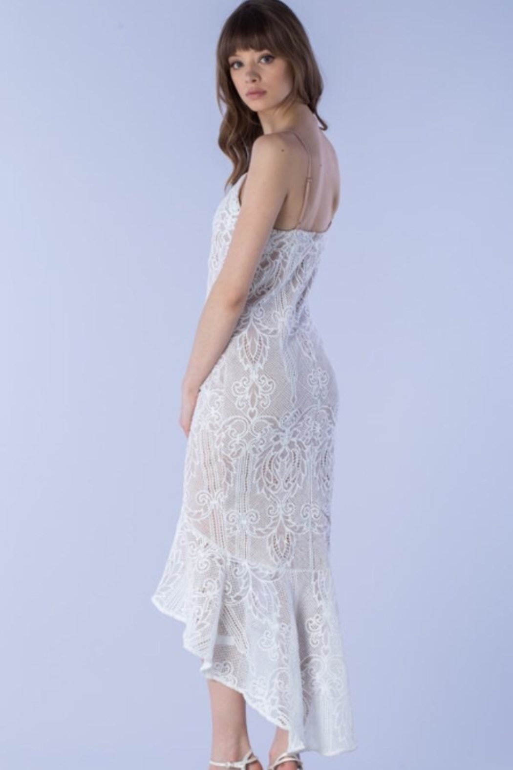 Do & Be Bell-Bottom Lace Dress - Side Cropped Image
