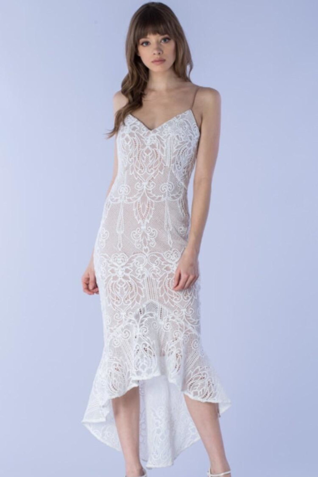 Do & Be Bell-Bottom Lace Dress - Main Image