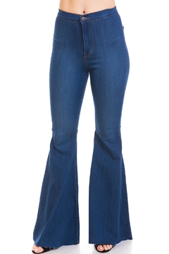 Vibrant Bell Bottoms Jeans - Product List Image