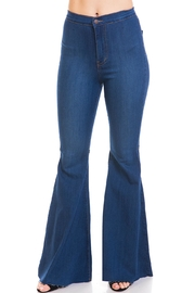 Vibrant Bell Bottoms Jeans - Product Mini Image