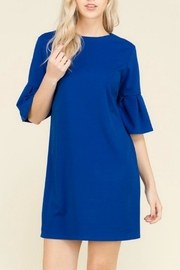 Izzie's Boutique Bell Shift Dress - Product Mini Image