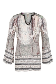 Tribal Bell Sleeve Blouse - Product Mini Image