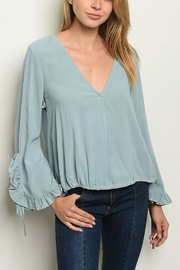 Lyn -Maree's Bell Sleeve Blouse - Product Mini Image
