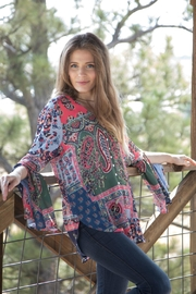 Olive Hill Bell Sleeve Blouse - Product Mini Image