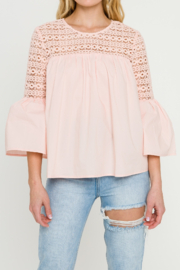 La Ven Bell Sleeve Blouse - Other