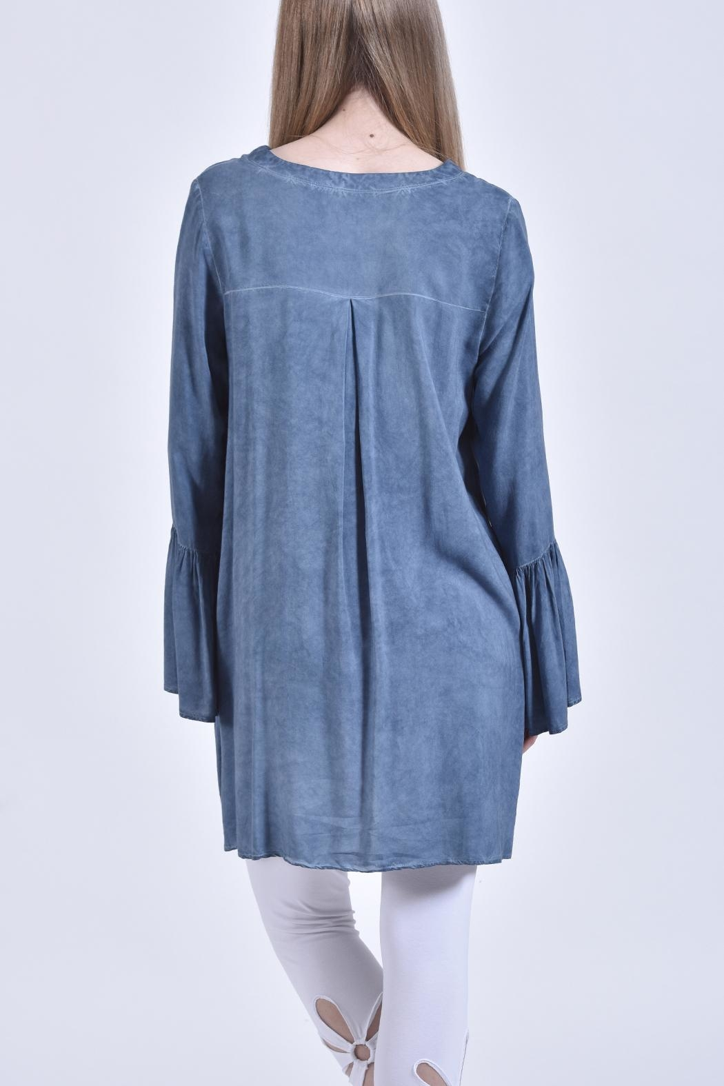 jane plus one Bell Sleeve Blouse - Front Full Image