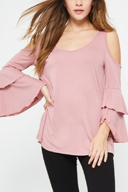 Promesa USA Bell Sleeve Blush - Front cropped
