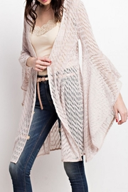 easel Bell Sleeve Cardigan - Product Mini Image