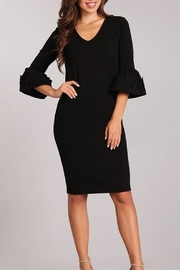 AAAAA FASHIONS Bell Sleeve Dress - Product Mini Image