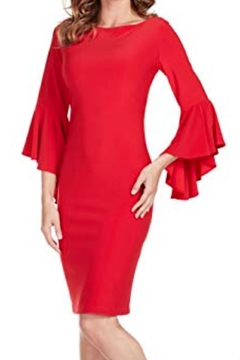 Frank Lyman Bell Sleeve Dress - Alternate List Image