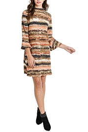 Aryeh Bell Sleeve Dress - Product Mini Image