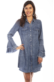 Scully  Bell Sleeve Dress - Product Mini Image