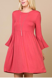 Lyn-Maree's  Bell Sleeve Everyday Dress - Product Mini Image