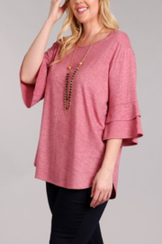 Chris & Carol Apparel Bell Sleeve everyday top - Product Mini Image
