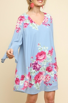 Umgee USA Bell Sleeve Floral - Product List Image