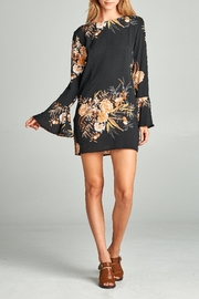 Racine Bell-Sleeve Floral Dress - Product Mini Image