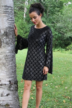 PAPILLON BLANC Bell-Sleeve Holiday Dress - Product List Image