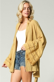 R+D Hipster Emporium  Bell Sleeve Kimono - Product Mini Image